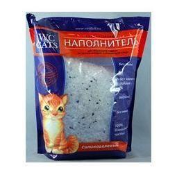 Наполнитель для кошачьего туалета WC CLOSET силикагелевый 7,6л