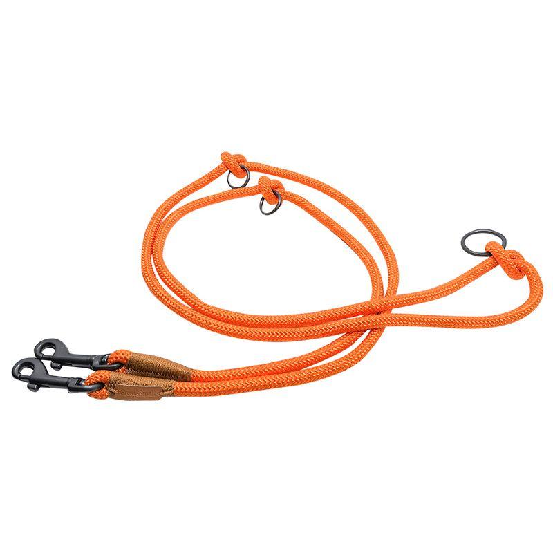 цена на Поводок для собак Great&Small Rope 9х2000мм оранжевый