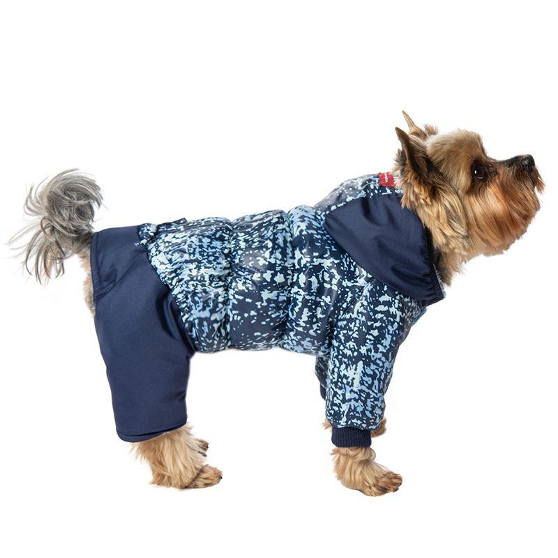 Комбинезон для собак Dogmoda Чарли унисекс-37см комбинезон для собак dogmoda сова унисекс цвет оранжевый бежевый размер 2 m