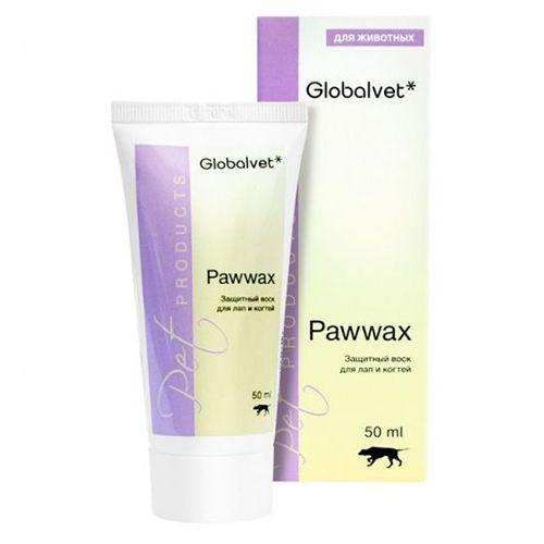 Защитный воск Globalvet Pawwax для лап и когтей 50мл