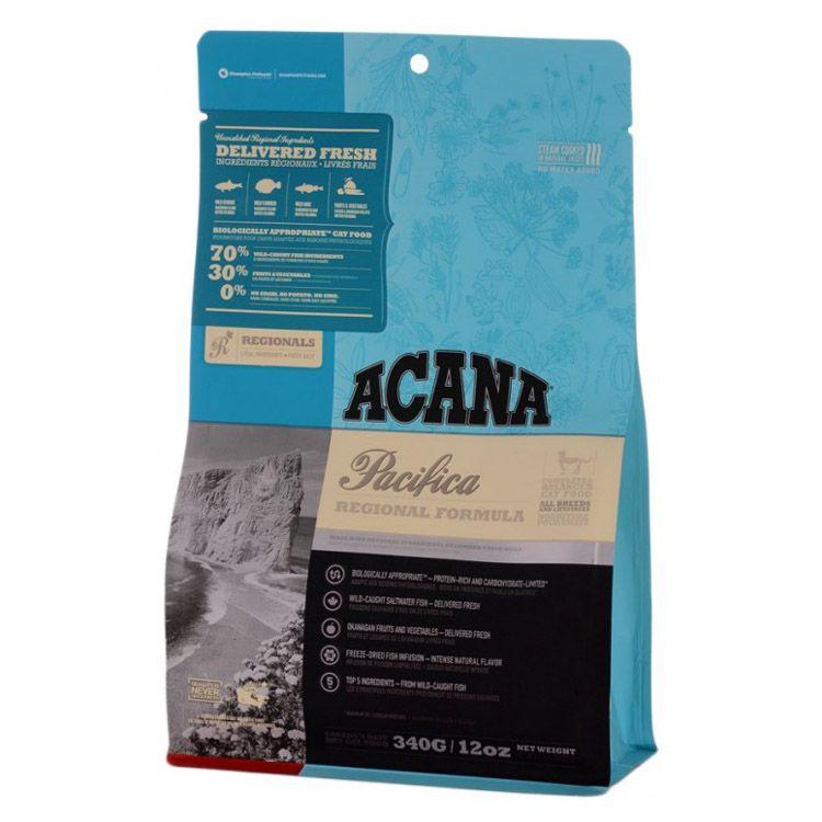 Корм для котят и кошек ACANA Pacifica Cat сельдь, сардина, камбала, треска, хек сух. 340г