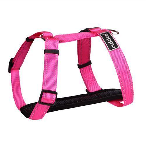 цена Шлейка для собак RUKKA 40 мм (обхват 55-95 см) Розовый онлайн в 2017 году