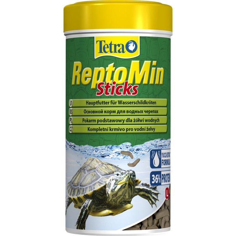 Корм для черепах TETRA ReptoMin Sticks в виде палочек для водных черепах 100мл