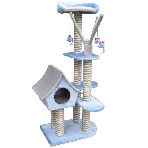 Игровая площадка для кошек FAUNA international FICP-097-0018 SAGRADA голубая 54х36х128см