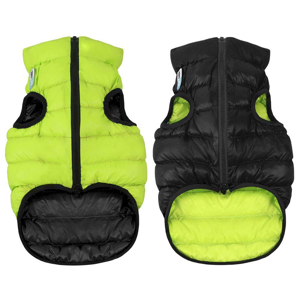 Курточка двухсторонняя AiryVest размер M 45 см cалатово-черная защита 8 7202060 обуви winter neoprene xl размер 45 46 черная author