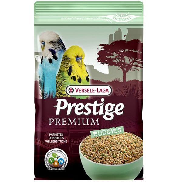 Корм для птиц VERSELE-LAGA Prestige Premium Budgies для волнистых попугаев 800г цена 2017