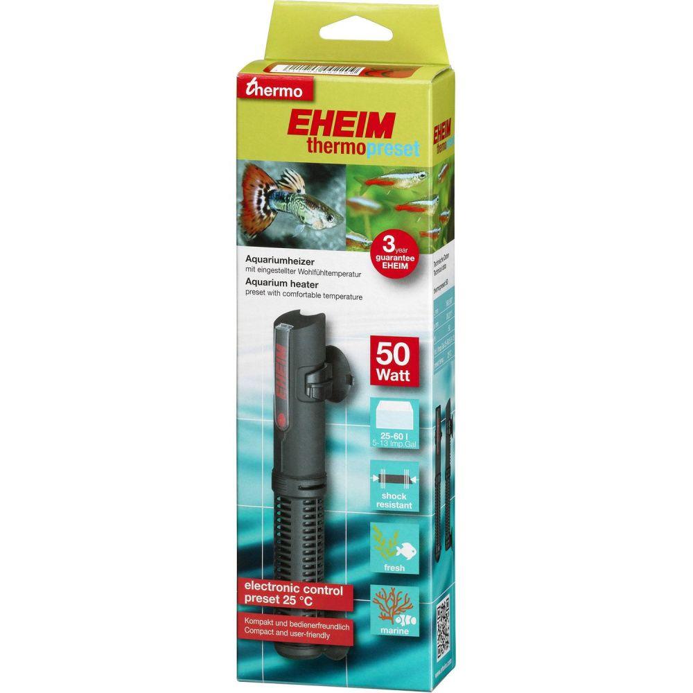Водонагреватель EHEIM 50Вт с фиксированной температурой 25 °С (25-60л)
