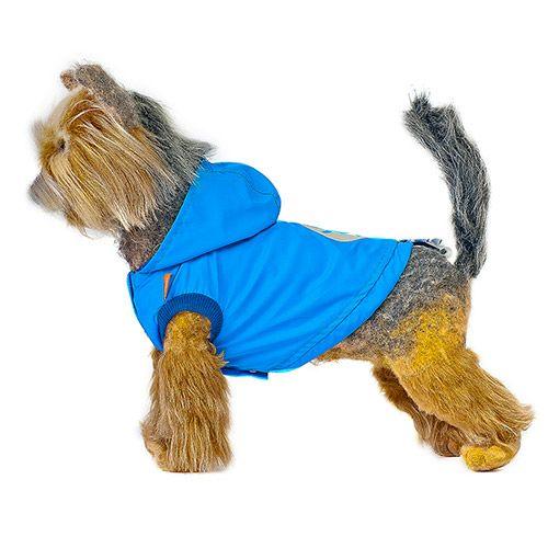 Ветровка для собак HAPPY PUPPY Дарк скай 3 28см платье для собак happy puppy шатель синий 3 28см