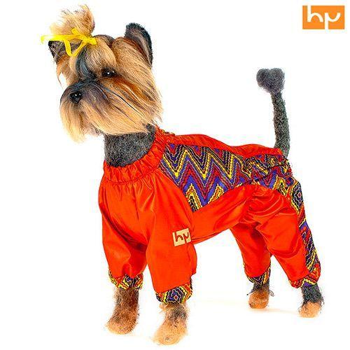 Комбинезон для собак HAPPY PUPPY Радуга (девочка) на подкладе 1 20см