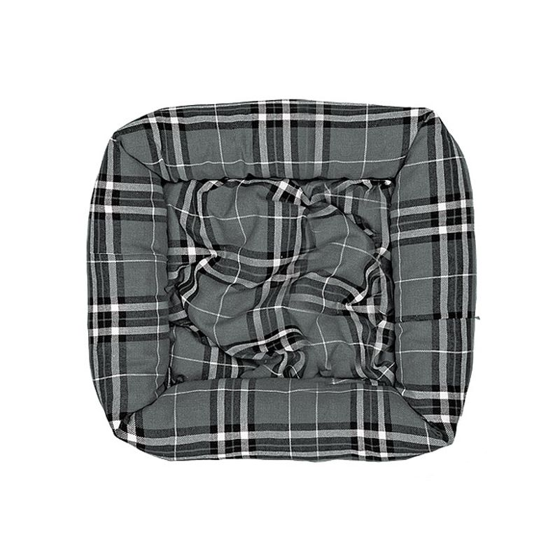 цена на Лежак для собак HAPPY PUPPY Бейкер стрит серый 60х60