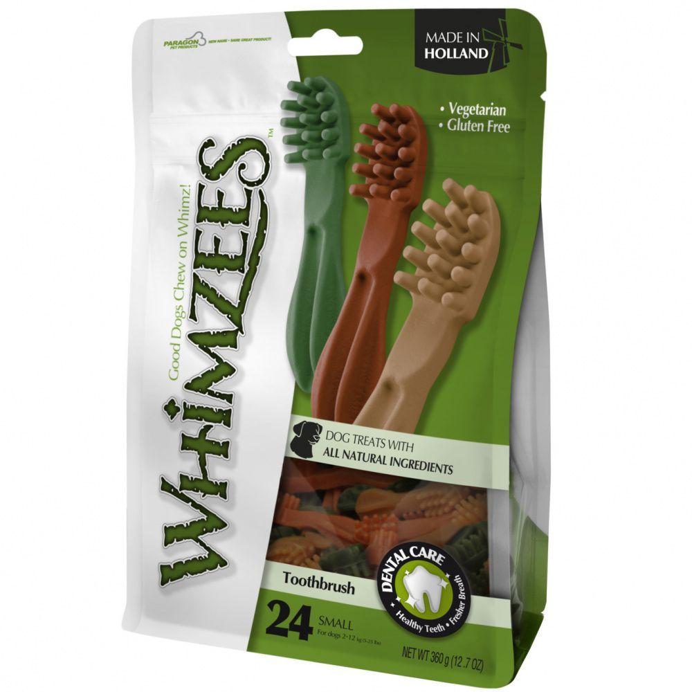 Лакомство для собак WHIMZEES Зубная щетка S 9см 24шт в пакете цена