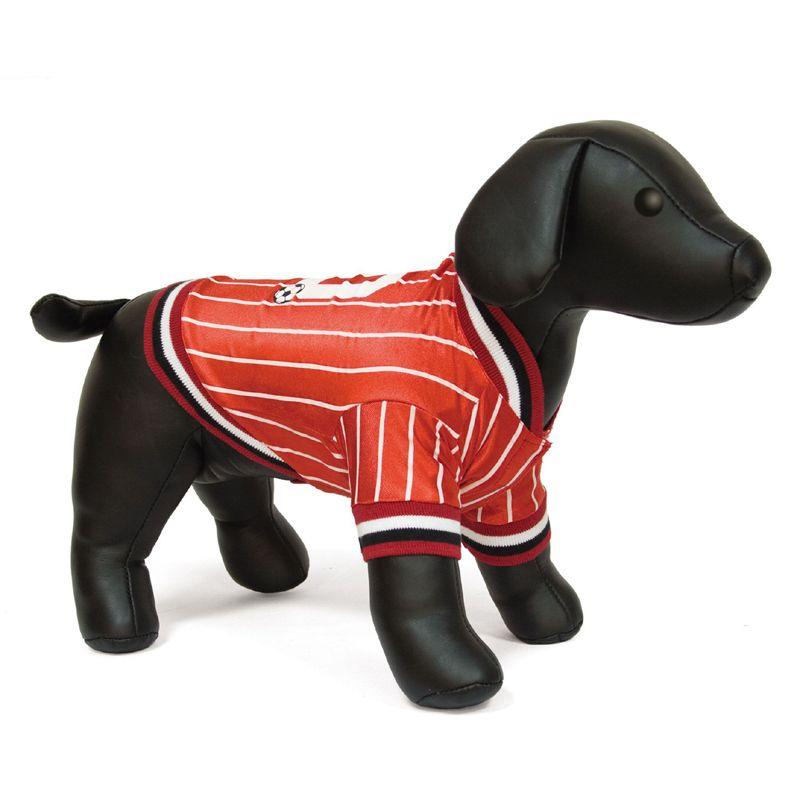 купить Футболка для собак DEZZIE 45см Красная десятка по цене 699 рублей
