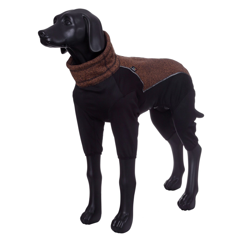 Комбинезон для собак RUKKA Subrima зимний 35см коричневый цены онлайн