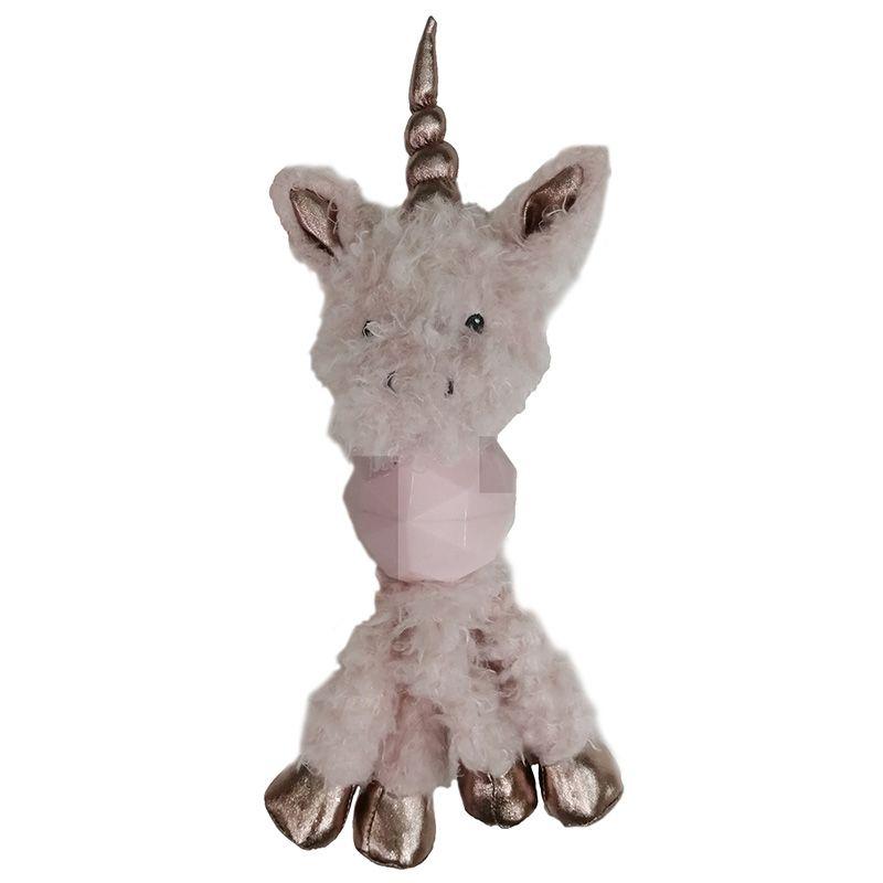 цена на Игрушка для собак CHOMPER Enchanted Forest Единорог с длинными ногами и пищалкой плюш 34см