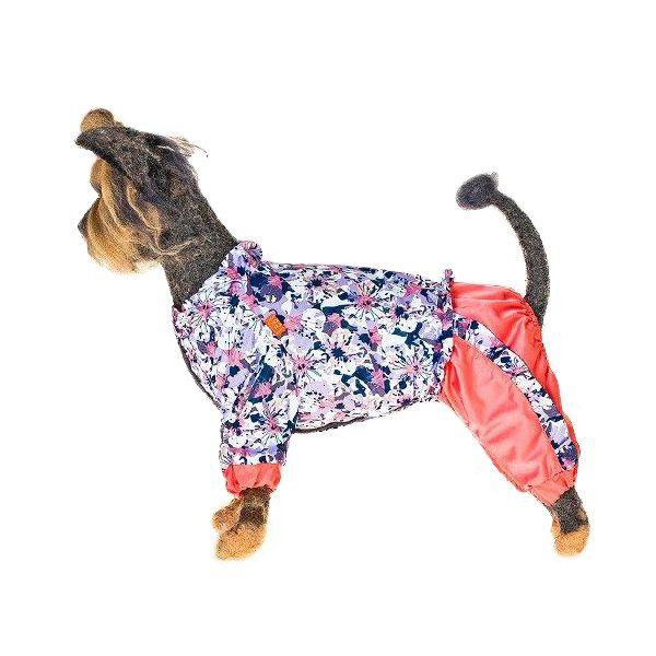 Комбинезон для собак HAPPY PUPPY Медея-3 28см платье для собак happy puppy шатель синий 3 28см