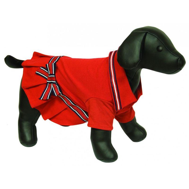 Платье для собак DEZZIE спортивное, 35см