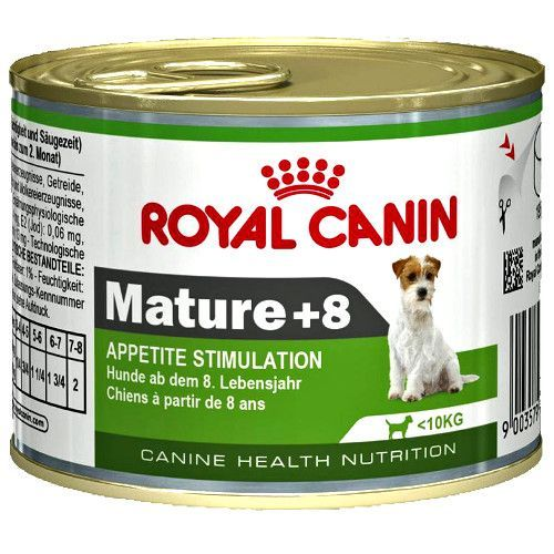 Фото - Корм для собак ROYAL CANIN Adult Mature 8+ конс. 195г mature adult 7