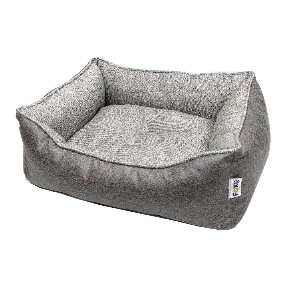 Лежак для животных Foxie Colour 70х60х23см серый