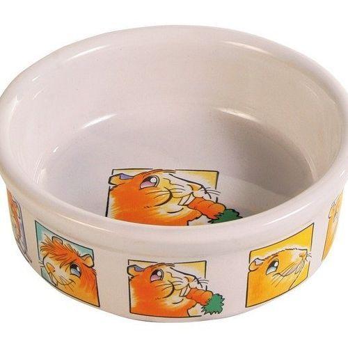 Миска для грызунов TRIXIE для морских свинок 240мл ф11 керамическая миска для грызунов beeztees для морских свинок керамическая бежево голубая 11 5см