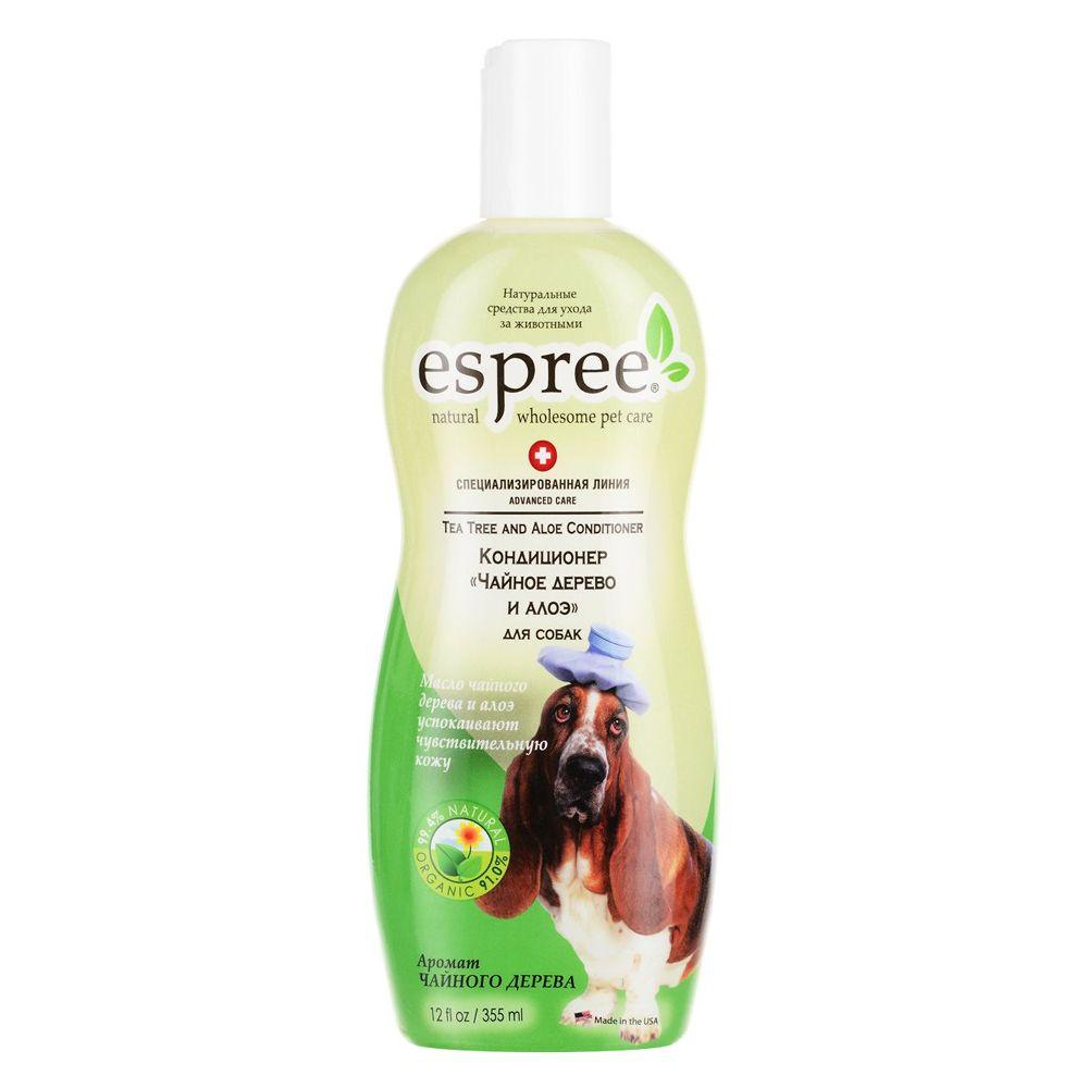 Кондиционер ESPREE Чайное дерево и алоэ для собак AC Tea Tree & Aloe Conditioner 355 мл