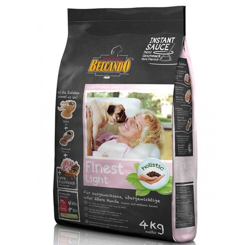 Корм для собак Belcando Finest-Light для мелких и средних пород облегченный сух. 4кг фото