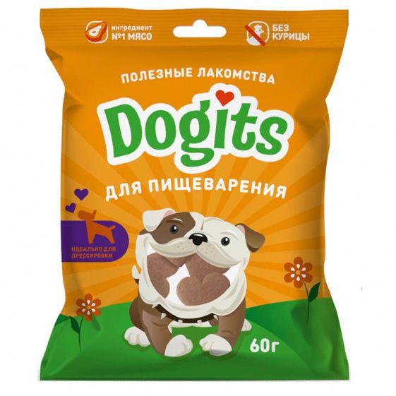 Лакомство для собак Dogits функциональное для пищеварения 60г для собак роял канин для проблемного пищеварения