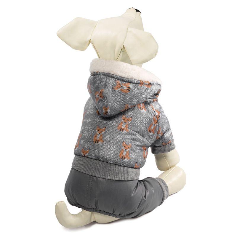 Комбинезон для собак TRIOL зимний Лисички S, размер 25см