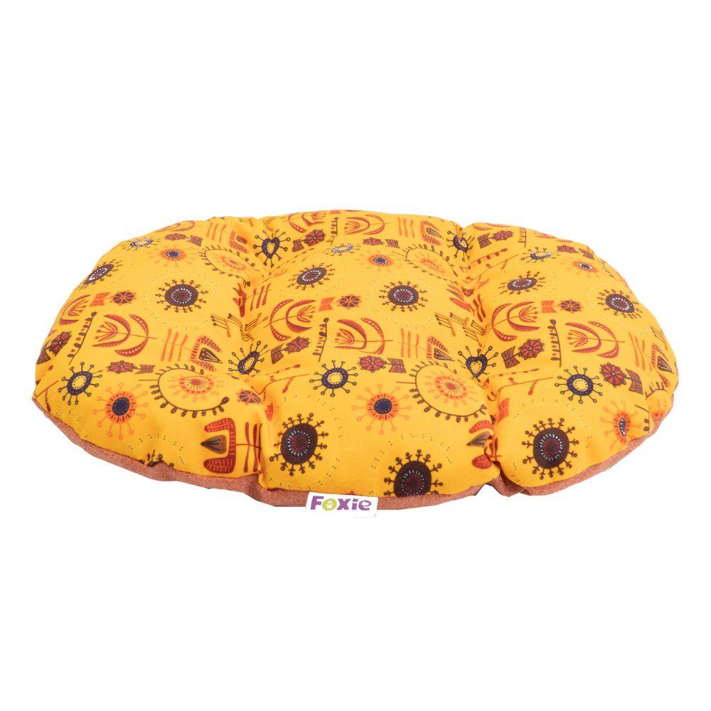 Матрас для животных Foxie Ethnics 71x54см желтый