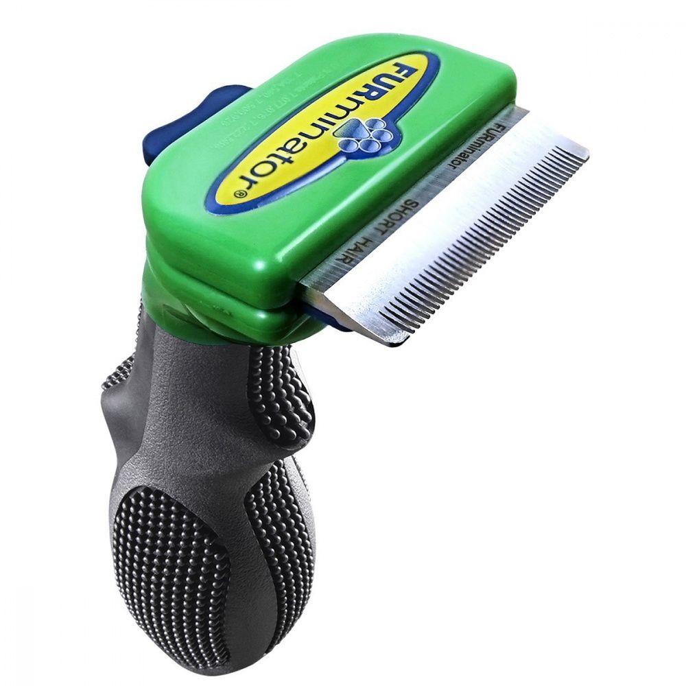 Фото - Фурминатор для собак FURminator для короткошерстных мелких пород 4см фурминатор для собак furminator для длинношерстных мелких пород 4см