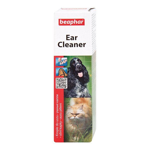 Лосьон для собак и кошек Beaphar Ear-Cleaner для ухода за ушами 50мл цена