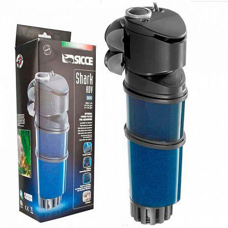 Фильтр SICCE внутренний Shark ADV 800, 800 л/ч для аквариумов от 130 до 200л