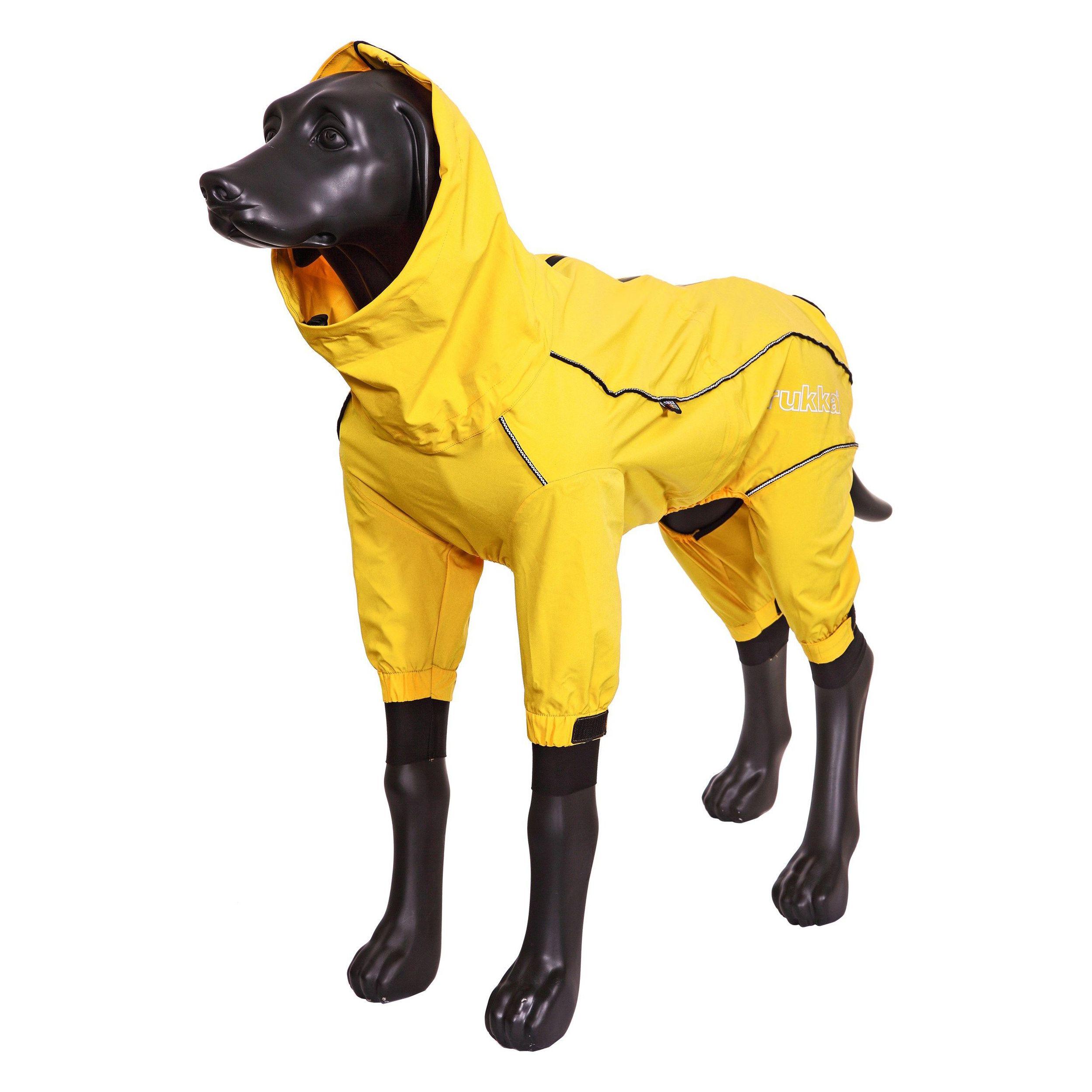 Комбинезон для собак RUKKA Protect overall 2.0 30см желтый цена