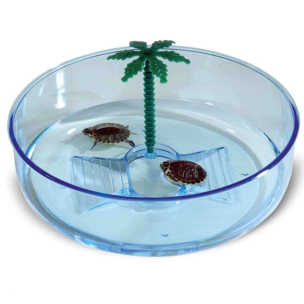 Бассейн для черепах IMAC Turtle Hydra пластиковый круглый ф22х6,5см