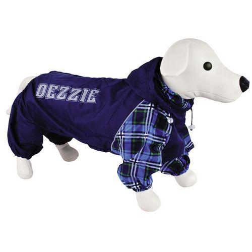 цена на Комбинезон для собак DEZZIE Йоркширский терьер мальчик болонья №1 26см