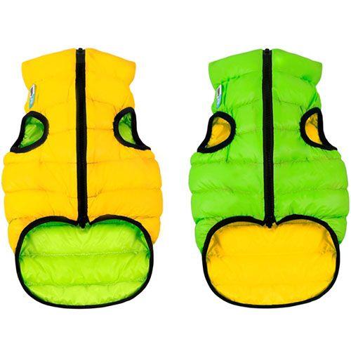 Фото - Куртка для собак AiryVest двухсторонняя размер XS 30см салатово-желтая платье oodji ultra цвет красный 14017001 6b 47420 4500n размер xs 42