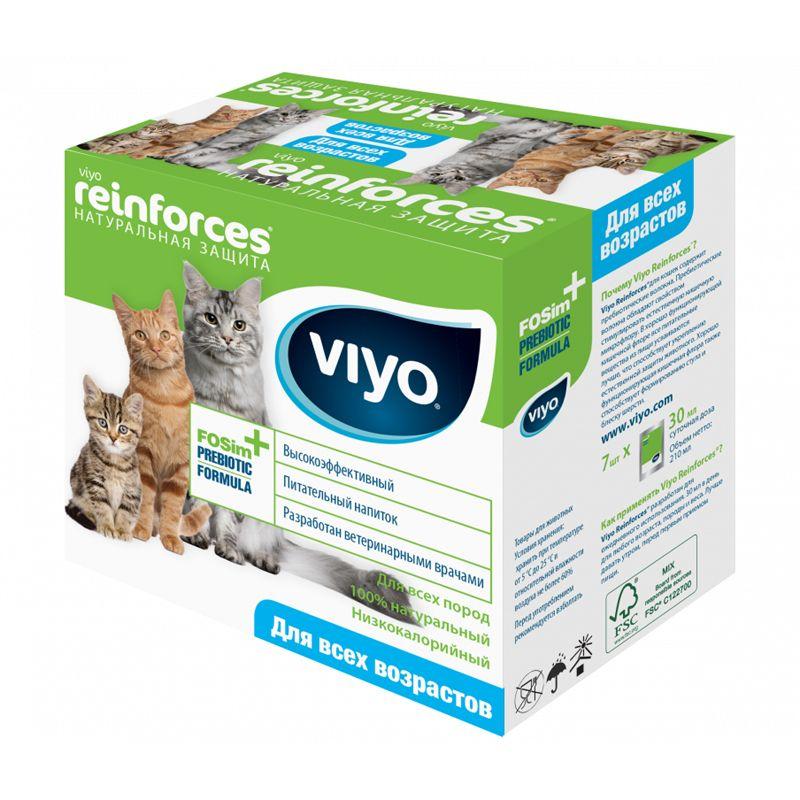 Подкормка-пауч для кошек VIYO для всех возрастов 7х30мл