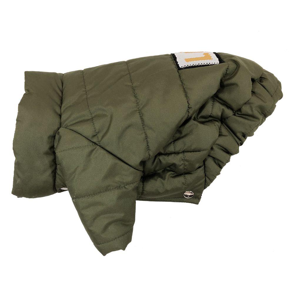 Куртка для собак ДОГ МАСТЕР стеганая с декором S 24 см свитер для собак дог мастер поло размер s 24 см