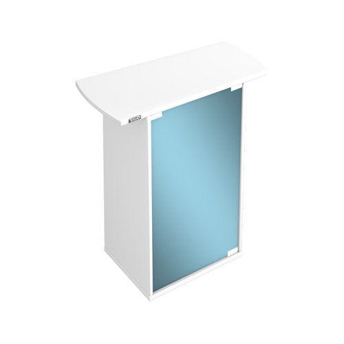 Тумба под аквариум TETRA для AquaArt 60л со стеклянной дверью цвет белый