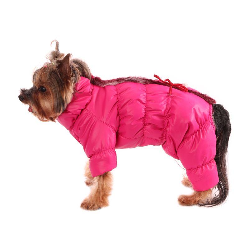 Комбинезон для собак YORIKI Карамелька зим. S 20 см