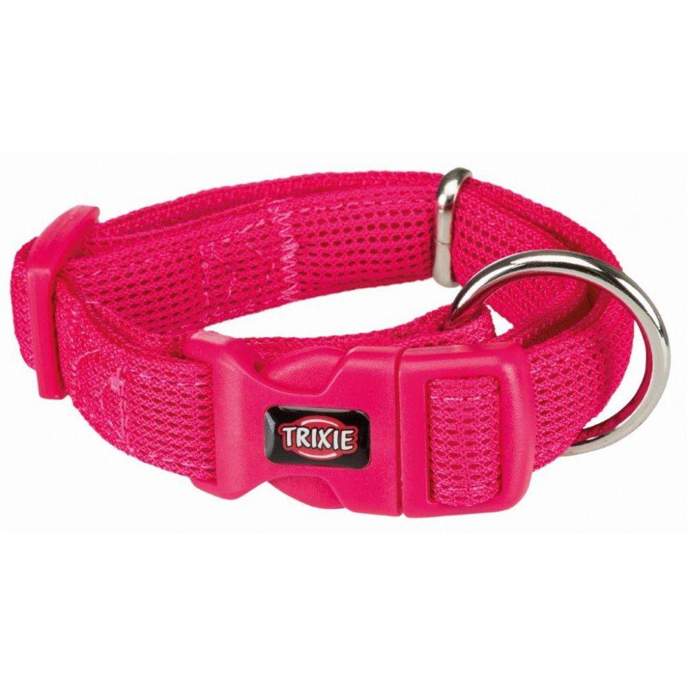 Ошейник для собак TRIXIE Comfort Soft, XXS–XS: 17–25см/13мм, фуксия