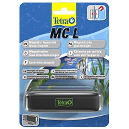 Магнитный скребок TETRA Tec MC L пластик, металл скребок для аквариума tetra mc m магнитный