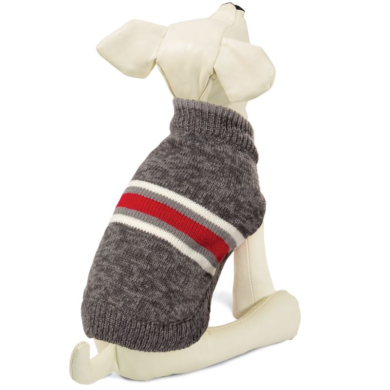 Свитер для собак TRIOL Статус S, серый, размер 25см