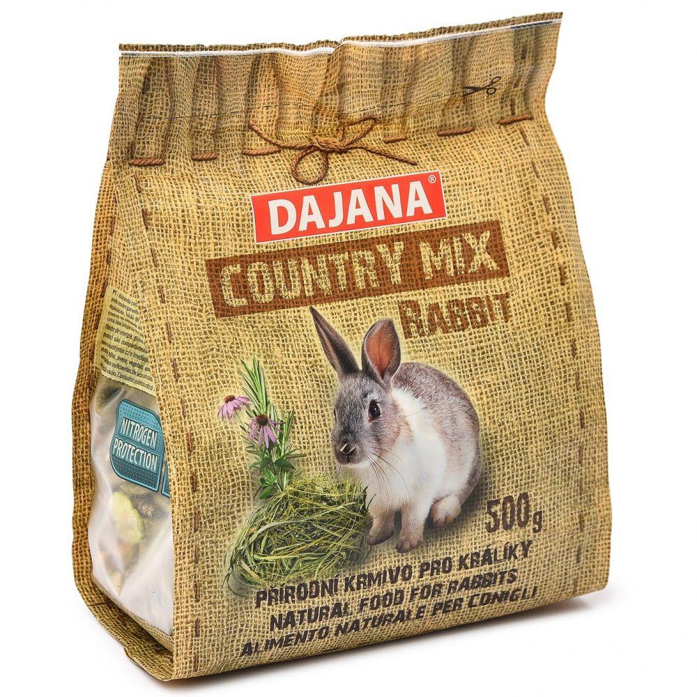 Корм для кроликов DAJANA Country Mix сух. 500г пряники калачов купец шоколадные заварные 500г