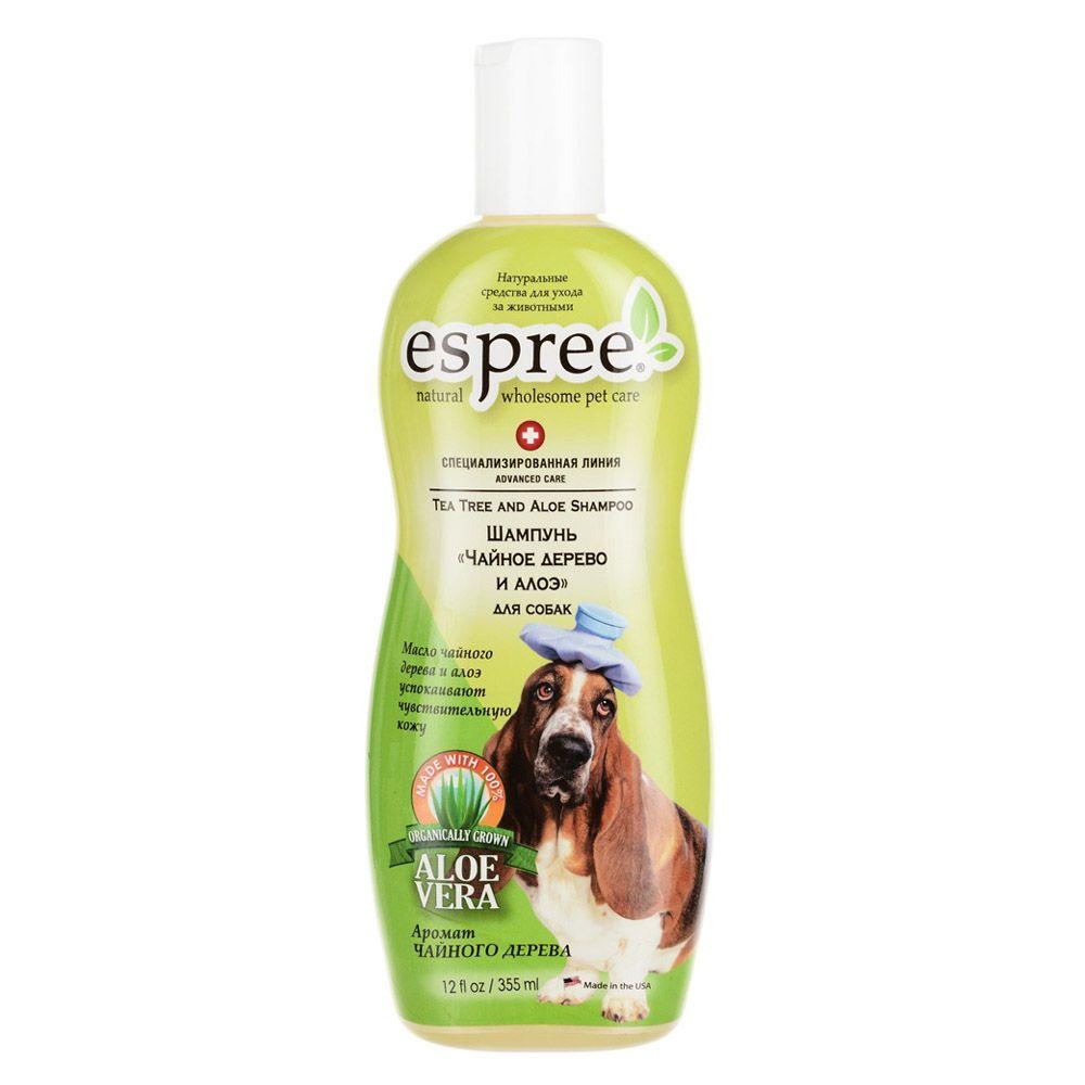 Шампунь для собак ESPREE AC Tea Tree & Aloe Чайное дерево и алоэ 355 мл недорого
