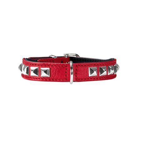 Ошейник для собак HUNTER Роки Петит кожа красный 30см ла петит марселье гель для душа