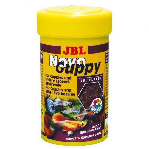 Корм для рыб JBL NovoGuppy основной корм гуппи и других живородящих 250мл.