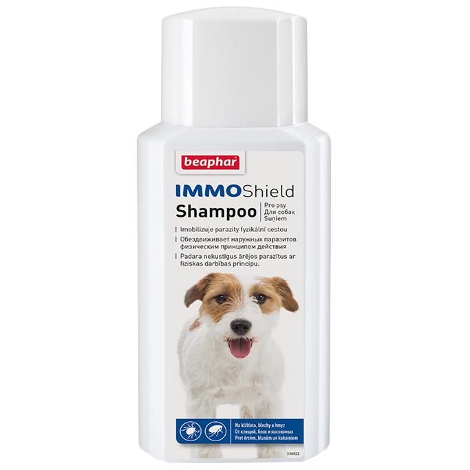 Шампунь Beaphar Immo Shield Shampoo от паразитов для собак 200мл