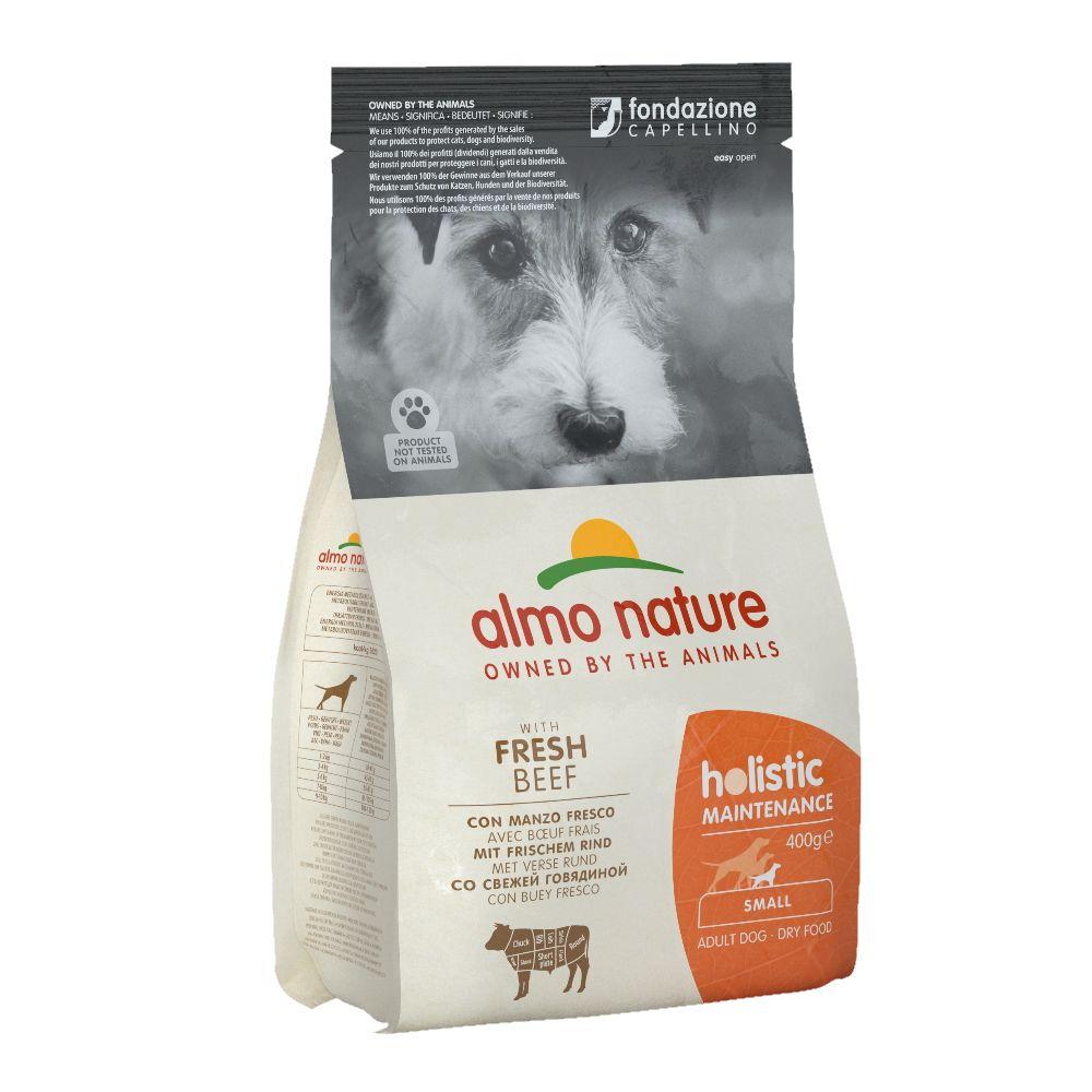 Корм для собак Almo Nature Holistic-XS-S-Maintenance для малых пород, говядина сух. 400г