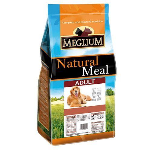 Корм для собак MEGLIUM мясо, овощи сух. 15кг