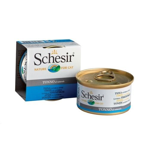 тунец в собственном соку sunfeel 170 г Корм для кошек SCHESIR тунец в собственном соку конс. 85г